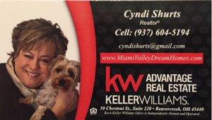Springboro real estate agent Cyndi Shurts