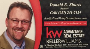 Dayton Keller Williams agent Don Shurts