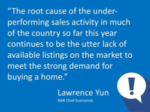 Lawrence Yun May 2018 US Real Estate Market