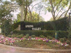 spring valley entrance