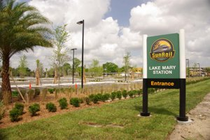 Lake Mary SunRail Station