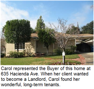 Carol sold 635 Hacienda Drive, Monrovia, California