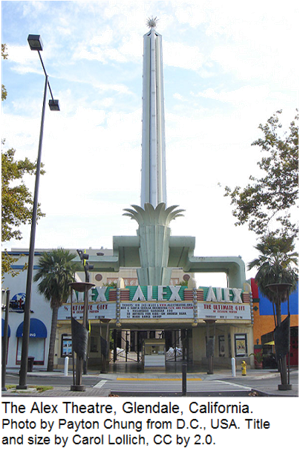The Alex Theatre, Glendale, California