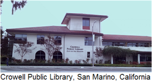 Crowell Public Library, San Marino, California