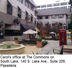 Caro's office at The Commons on South Lake