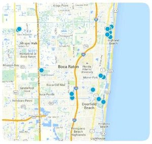 Real Estate Interactive Map Search