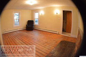 Lovely Wood Floors Continue to Living Room