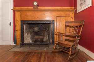 Canaan New York Real estate fireplace