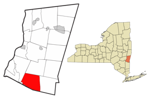 Gallatin New York Homes for Sale map