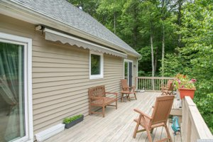 Upstate NY real estate, Vandenburg deck