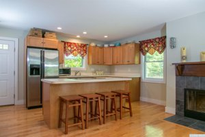 Upstate NY real estate, Vandenburg kitchen