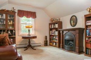 Upstate NY real estate, Vandenburg living room
