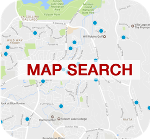 Map Search Button