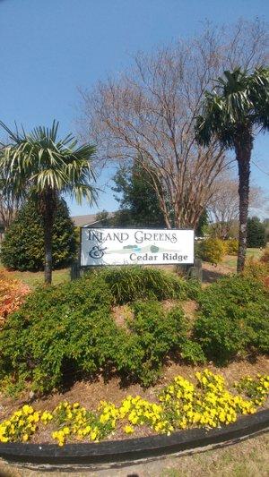 Inland Greens entry