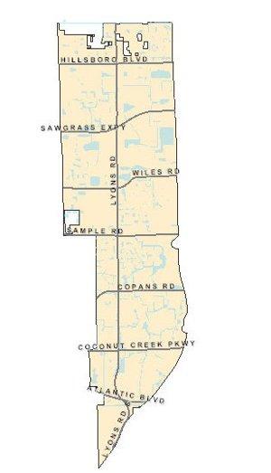 Coconut Creek Map