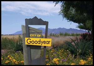 Goodyear is the wealthest city in the West Valley of Phoenix.  Goodyear Demographics