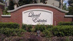 Quail Estates, Apopka, FL  32712