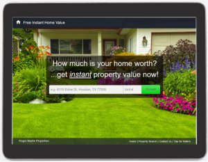 Free Instant Home Valuation, Houston, TX