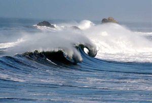 Waves in Pacifica