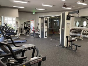 The fitness room at 4130 Central Sarasota Parkway for Sale on Palmer Ranch Kitchen