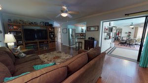 4957 Rutland Gate - The Family room is the central location