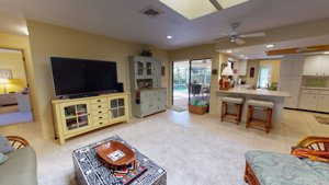 2215 Alice Rd in Sarasota, FL 34231 Open and bright Living/Family Room