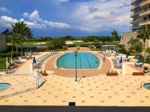 Enjoy one of the two pools at Grand Bay on Longboat Key