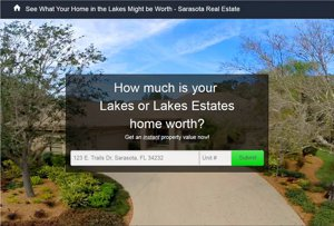 See what a buyer might pay for you home in The Lakes and Lakes Estates in Sarasota, FL