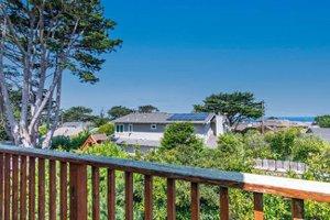 Ocean views from a Pacific Grove beach tract home