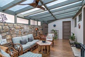 Sun room in Pacific Grove