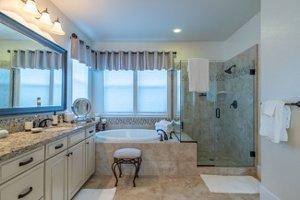 East Garrison Heritage craftsman home for sale master bath