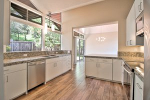 Monterey home for sale with a remodeled kitchen