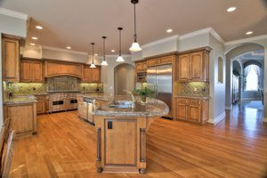 Hollister home for sale with a gourmet kitchen