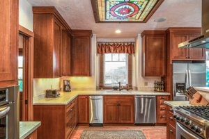 Luxury Craftsman Kitchen in Pacific Grove
