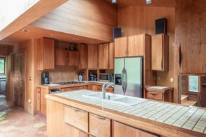 246 Highway 1 Carmel Highlands kitchen