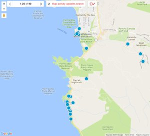 Carmel Real Estate Map Search