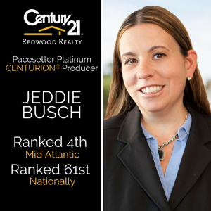 Ashburn's Local Expert Realtor® Jeddie Busch Ranked Nationally by Century 21
