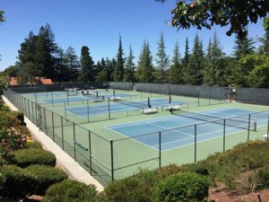 6 Tennis Courts in The Villages Golf & Country Club San Jose CA
