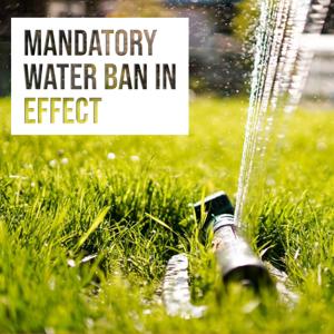 Hanson Water Ban