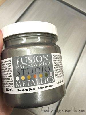 metallic kitchen cabinet paint