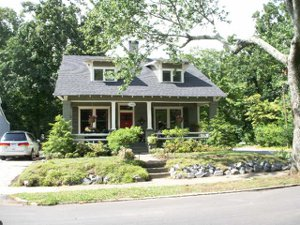 Picture of typical College park real estate - bungalow