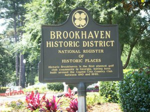 Brookhaven Historic District  - The National Register  of Historic Places