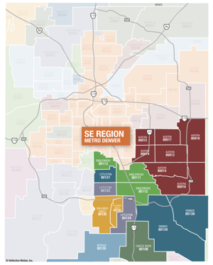 SE Suburban Denver Neighborhoods