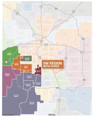 SW Suburban Denver Neighborhoods