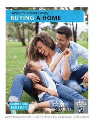 Buying a Home Summer 2018 Guide