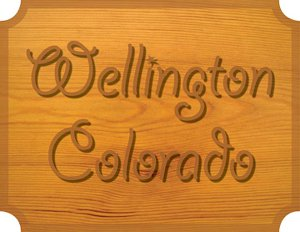 Wellington Colorado sign
