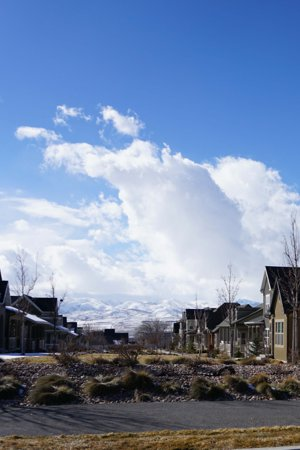 Ivory Ridge Parkside neighborhood in Lehi Utah
