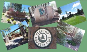 Pinetop Country Club gated areas