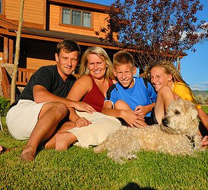 Vacation home family enjoyment
