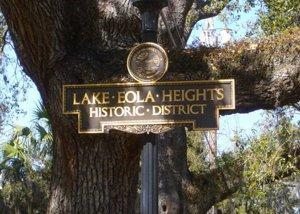 Lake Eola Heights Orlando FL